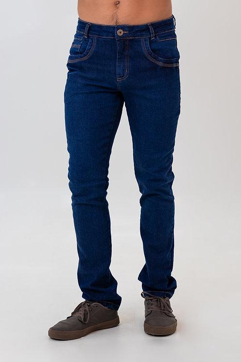 Calça Jeans Modelo Slim - 5182