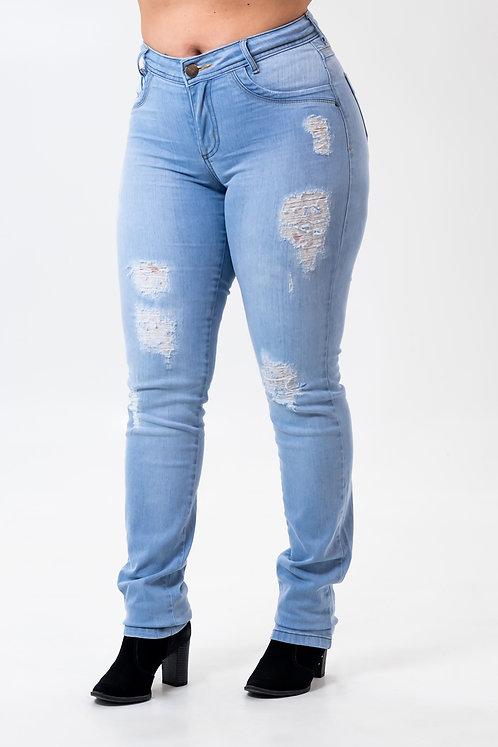 Calça Jeans Modelo Slim - 12504