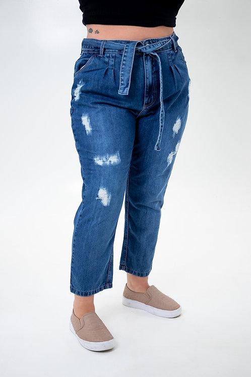 Calça Jeans Modelo Clochard - 12574