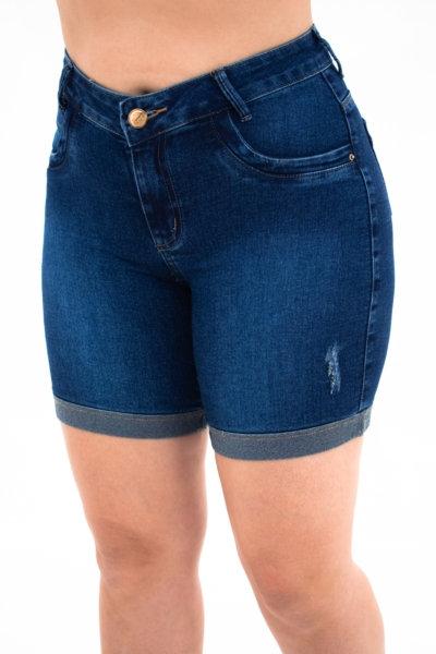 Meia Coxa Jeans Clássica - 3986B