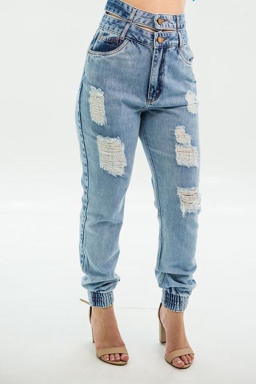 Calça Jeans Modelo Mom Thamires - 13529
