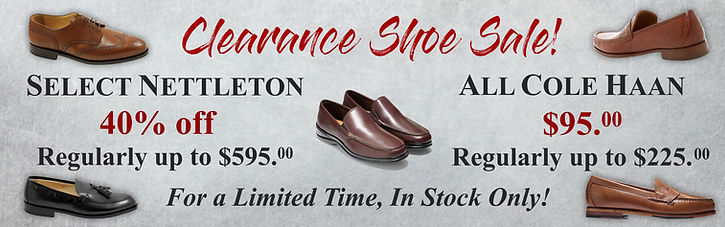 Nettleton Cole Haan Clearance Shoe Sale