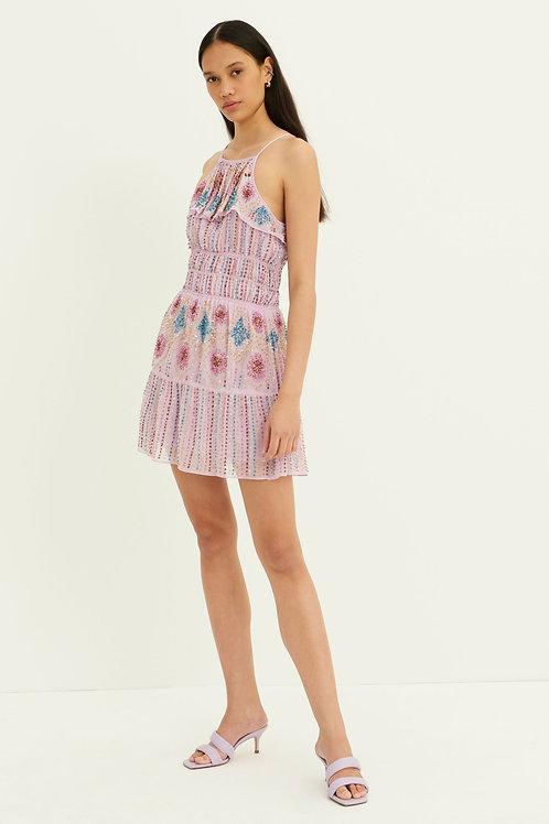 Louise Sequined Mini Dress - Parma Antik Batik