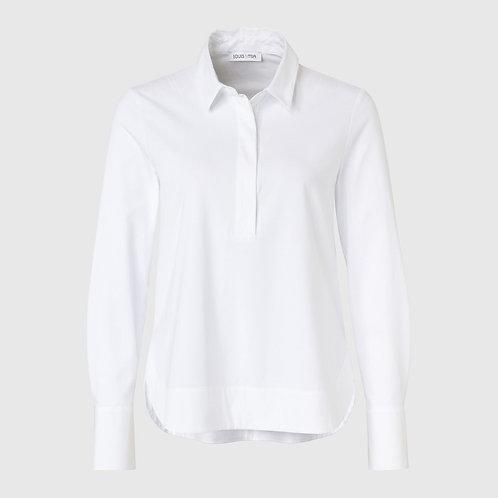 Witte blouse van jersey Louis en Mia
