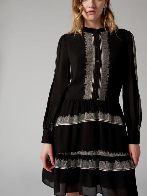 Linsey Embroidered Short Dress