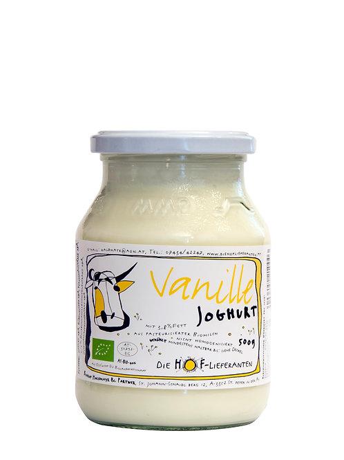 Joghurt Vanille 0,5 l