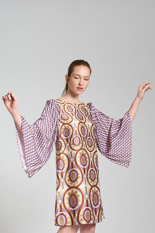 TWILL PATCH DRESS mali parmi