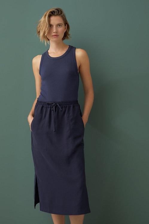 sleek twill skirt Jaden Closed