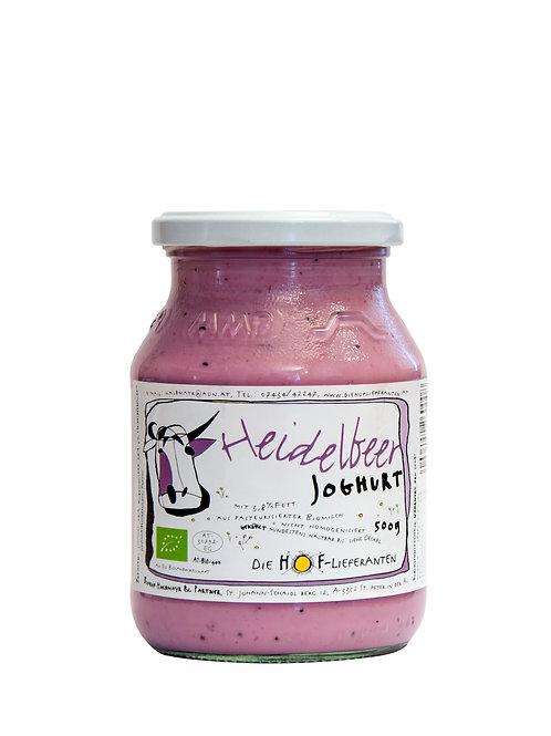 Joghurt Heidelbeer 0,5 l