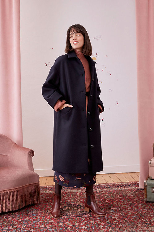 manteau nora reglisse