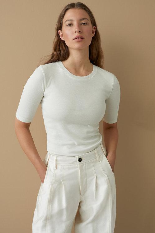 Cotton & Modal T-Shirt Closed