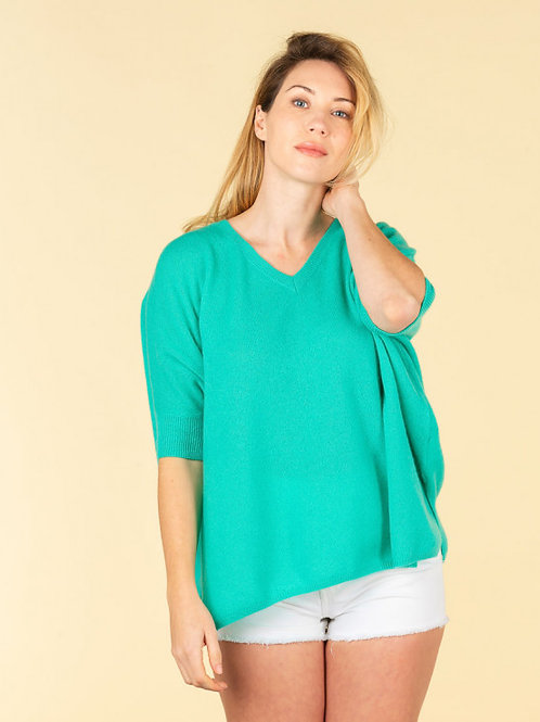 v-neck oversized sweater  kate Absolute Cashmere