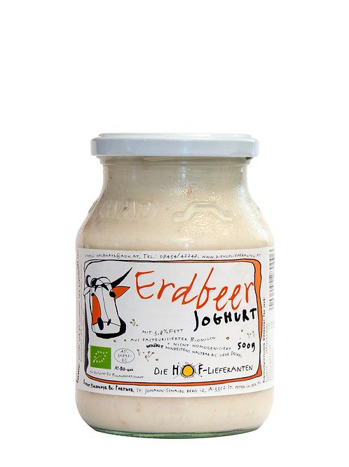 Joghurt Erdbeer 0,5 l