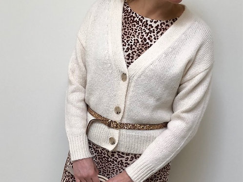 Allude V cardigan cashmere/woolmix