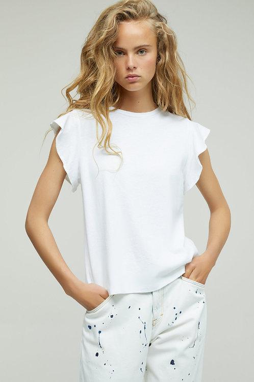 Cotton & Linen T-Shirt Closed