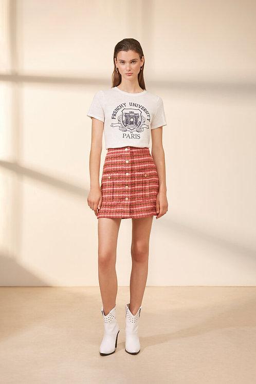 FRENCH UNIVERSITY print t-shirt Suncoo Mika