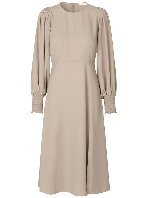 TIANNA RECYCLED DRESS S - CONCRETE Notes du Nord