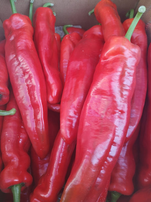 Spitzpaprika rot oder gelb Stk.
