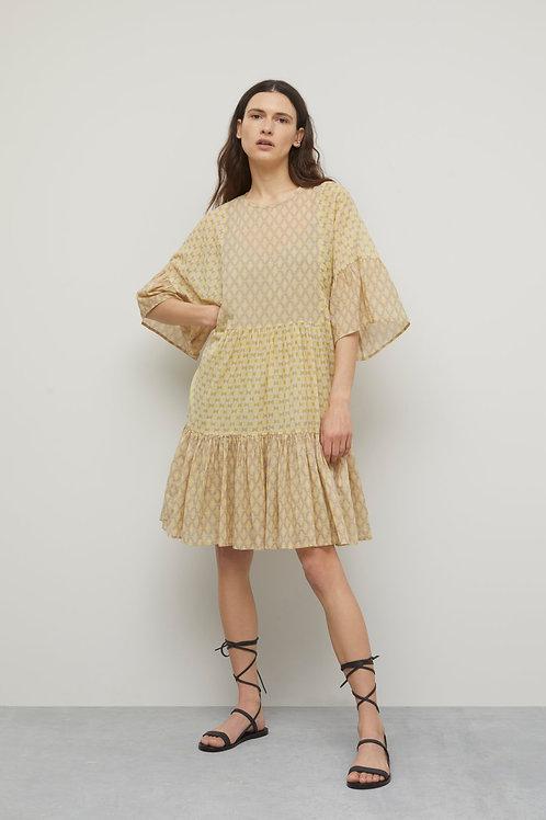 Printed Cotton Dress Closed tennie