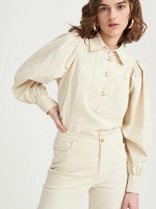 Mona velvet blouse