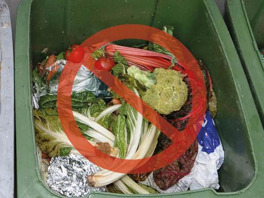 Kampf der Lebensmittelverschwendung!