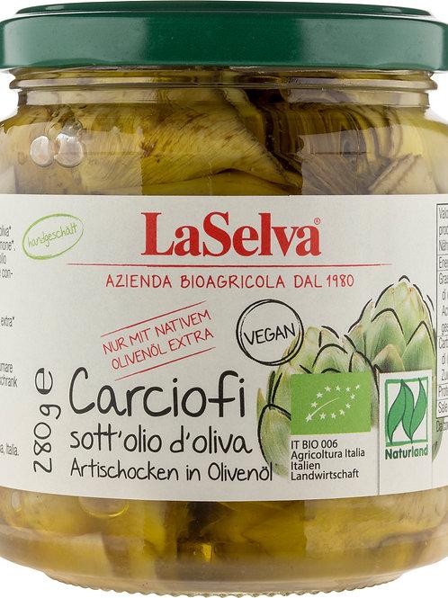 Artischocken in Olivenöl 280 g