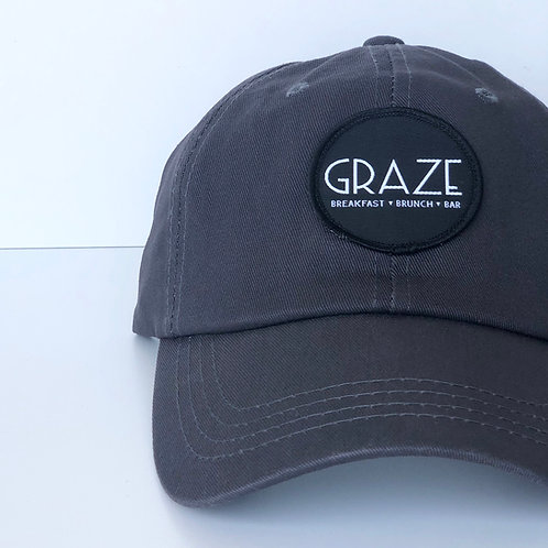 Graze Grey Baseball Hat