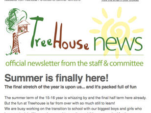 Latest newsletter out now!