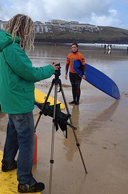 Video Coaching Crantock Newquay