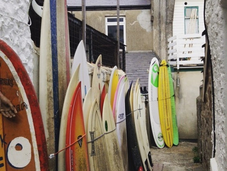Buying Your First Surfboard