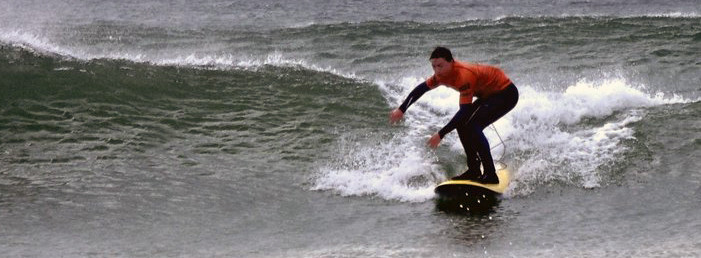 Outback Surf Lessons in Crantock