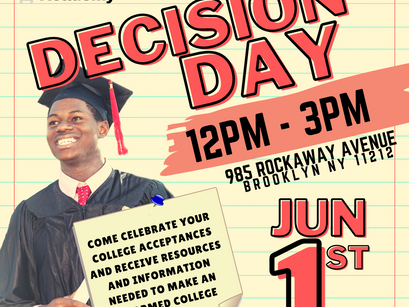 Decision Day is here!!
