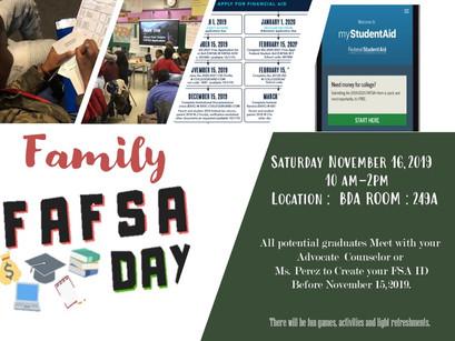 Family FAFSA day