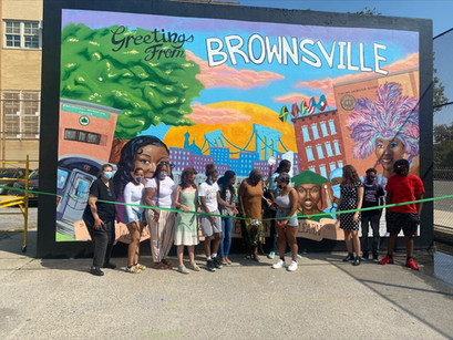 Community Mural unveiled after BDA/Metro Summer Collaboration