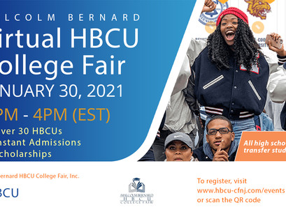 VIRTUAL HBCU COLLEGE FAIR