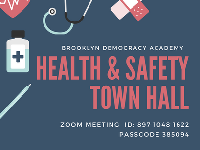 Safety and Health Town Hall meeting.
