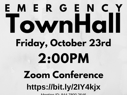 Emergency Town Hall Meeting