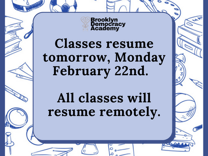 Classes Resume