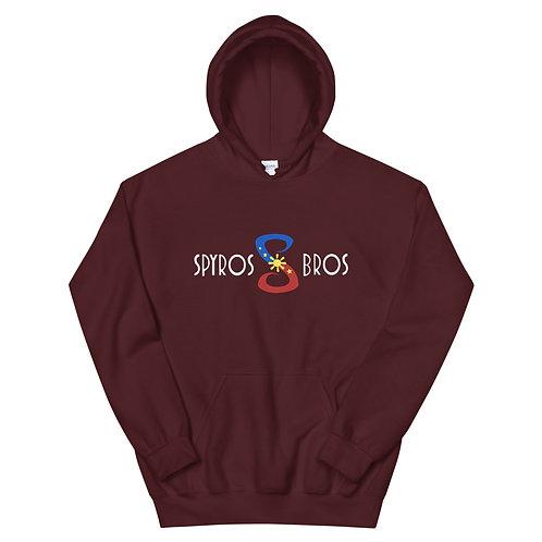 Spyros Bros Maroon Signature Hoodie