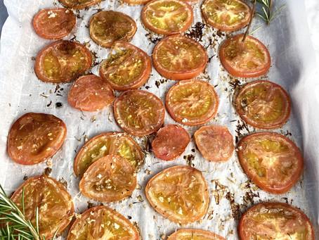 バルサミコとパルメジアーノのオーブンロースト・トマト