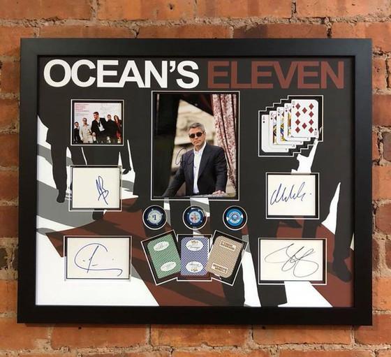 Oceans Eleven Autographed Presentation