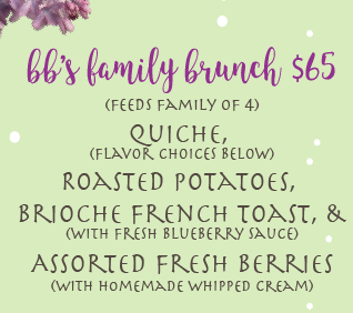 BB's Family Brunch Special