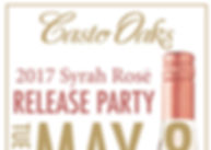 casto oaks rose tasting release party fo
