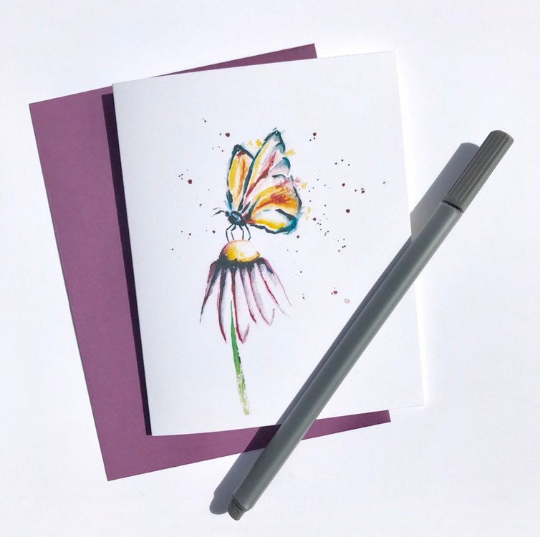 nature watercolor - purple butterfly.png