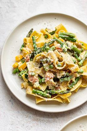 Pappardelle Vegetarian Pasta