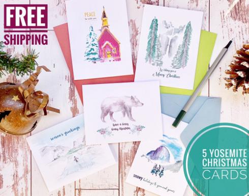 Yosemite Christmas Card Pack promo.png