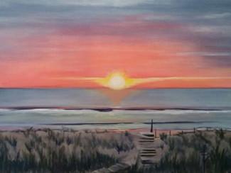 Sun Rise on Bald Head Island