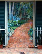 Patio Mural
