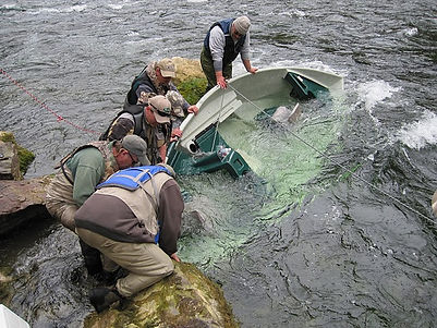 Drift Boat Recovery