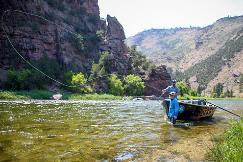 Casting from Drift Boat, Fly Fishing Guides